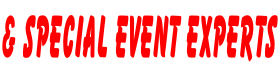 & SPECIAL EVENT EXPERTS